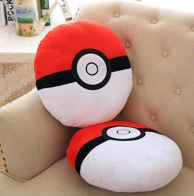 Pokeball Soft Pillow