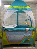 Baby Playpen Care CPL-Y310ALU-DLX Rangka Aluminium