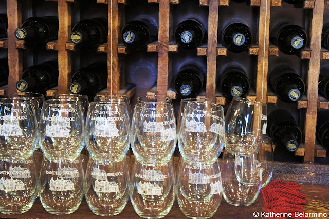 Rancho Sisquoc Wine Glasses Santa Maria Wine Tasting Central Coast