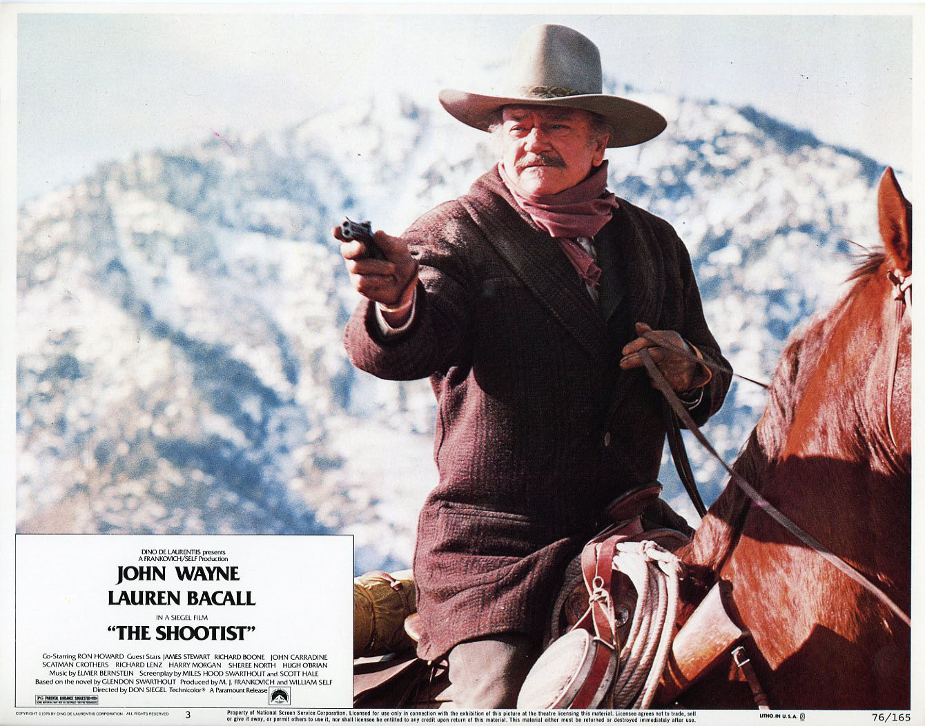 HELLO FROM FRED & ETHEL'S HOUSE: The Shootist (1976
