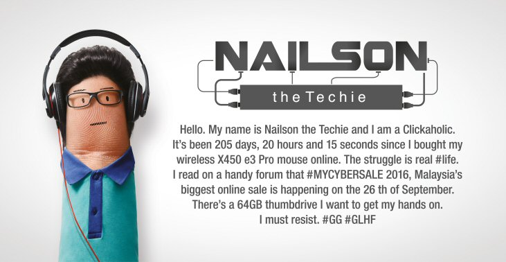 #MYCYBERSALE - Nailson, the Techie