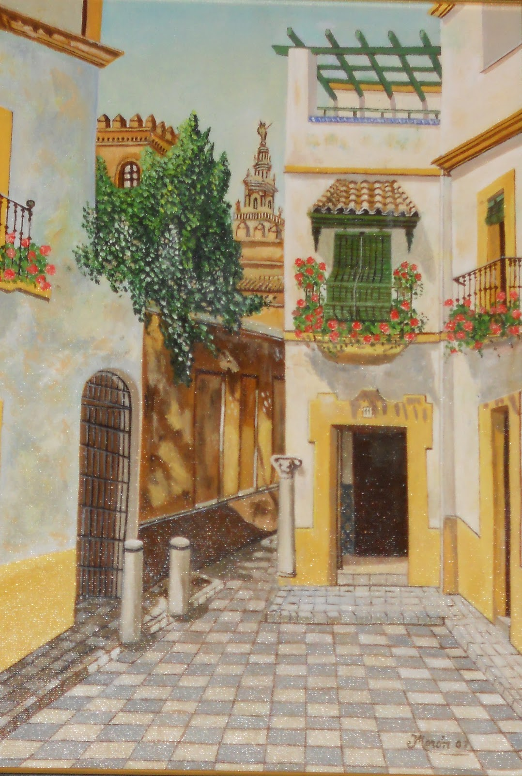 Pintor Jos 233 Mor 243 N Romero Barrio Santa Cruz Sevilla 1