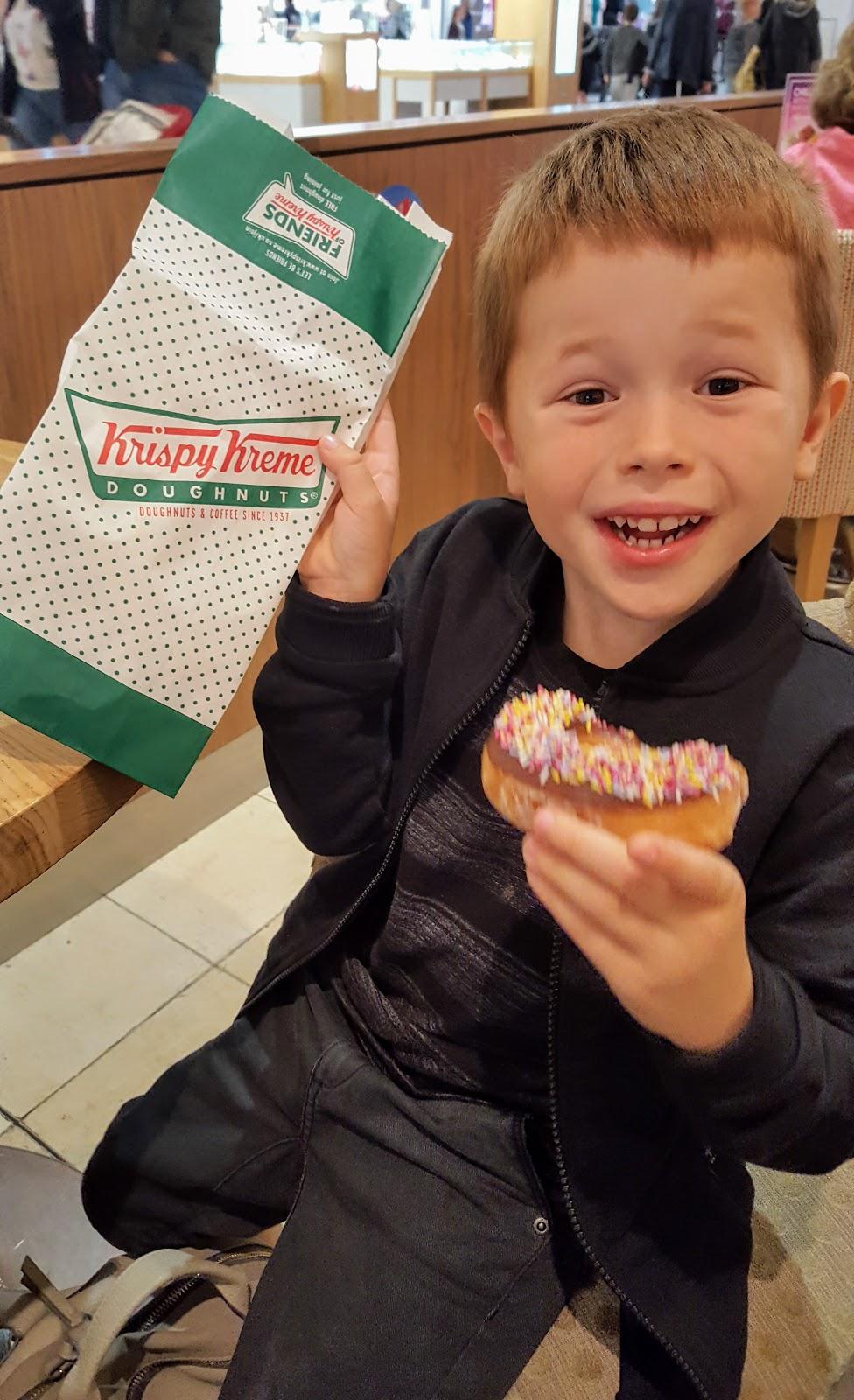 krispy kreme doughnuts - Intu Derby