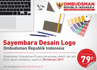 Lomba Desain Logo Ombudsman RI Berhadiah 79 Juta Rupiah (DL Februari 2017)