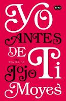 Yo antes de ti_novela sentimental_Apuntes literarios de Paola C. Álvarez