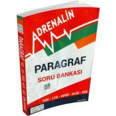 Paragraf Soru Bankası (YGS-LYS-KPSS-ALES-DGS) AdreNalin Yayınları