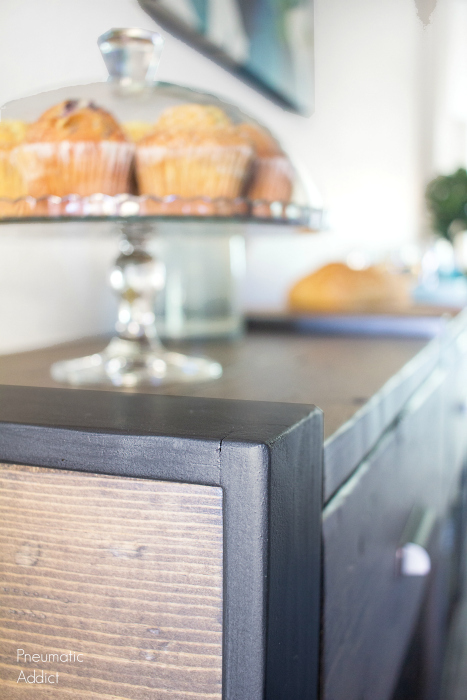 Pneumatic Addict Rustic Modern Knock Off Console Table