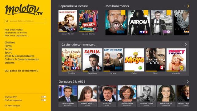Regarder Molotov.tv en direct - TV gratuite