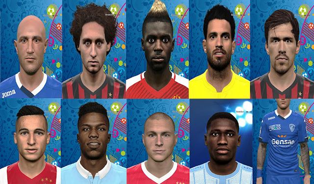 PES 2016 New Facepack by Prince Hamiz