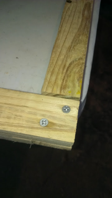 Lap joint secured.