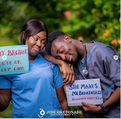 Pre-wedding Photos Of A Cute Nigerian Couple