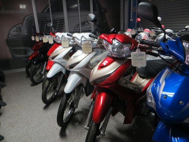 Цены на бу Honda Wave