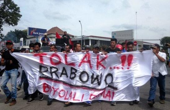 Ribuan warga Boyolali Melontarkan Aksi Protes Terkait Pernyataan Prabowo
