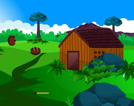 Play EscapeGamesZone Girl Rescue From Garden House