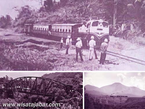 Sejarah jalur kereta api Jawa Barat