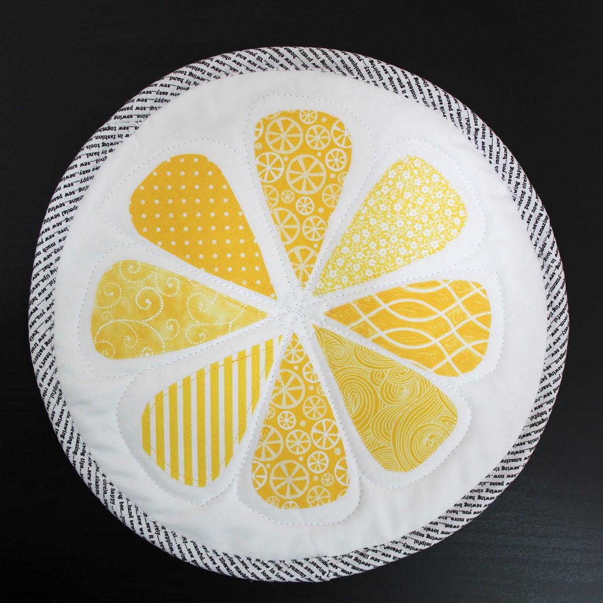 A Bit Of Scrap Stuff Mostly Crafty Lemon Slice Table