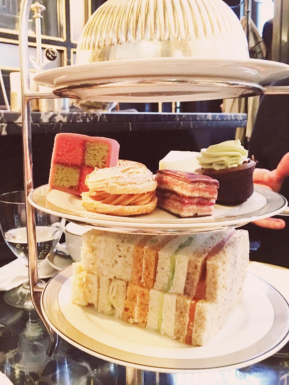 what to do on a london layover afternoon tea at the wolesly