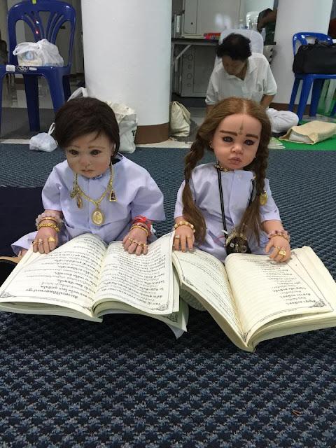 ritual memelihara boneka yang berisi arwah anak anak yang telah mati