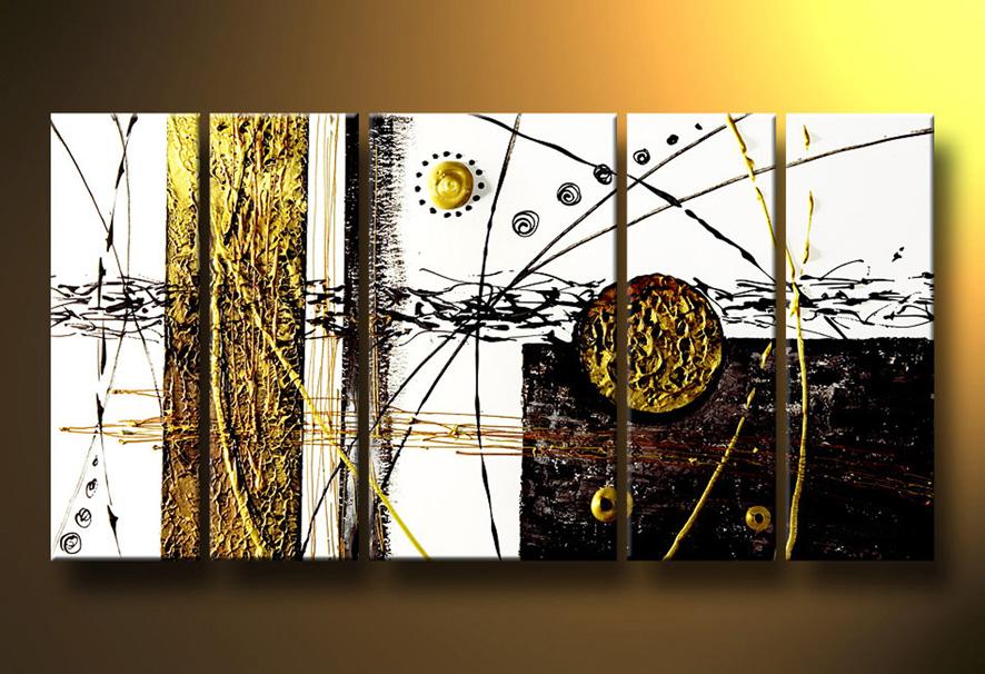 Cuadros Pinturas Oleos Arte Abstracto Moderno Cuadros En Relieve - Cuadros-modernos-con-relieve