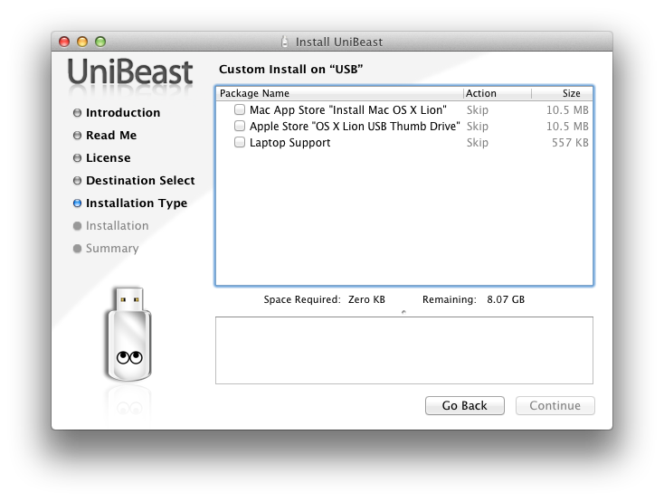 tonymacx86 Blog: UniBeast: Install Mac OS X Lion Using an