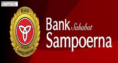 gambar Lowongan Kerja Bank Sampoerna maret 2016
