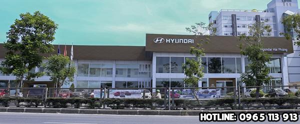 Showroom oto Hyundai Hải Phòng
