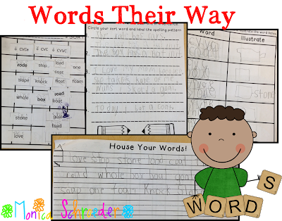 Words their Way and The Schroeder Page