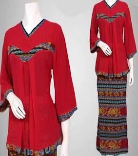 baju batik setelan online