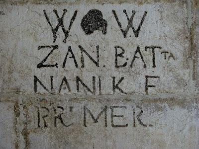 Graffiti am Dogenpalast