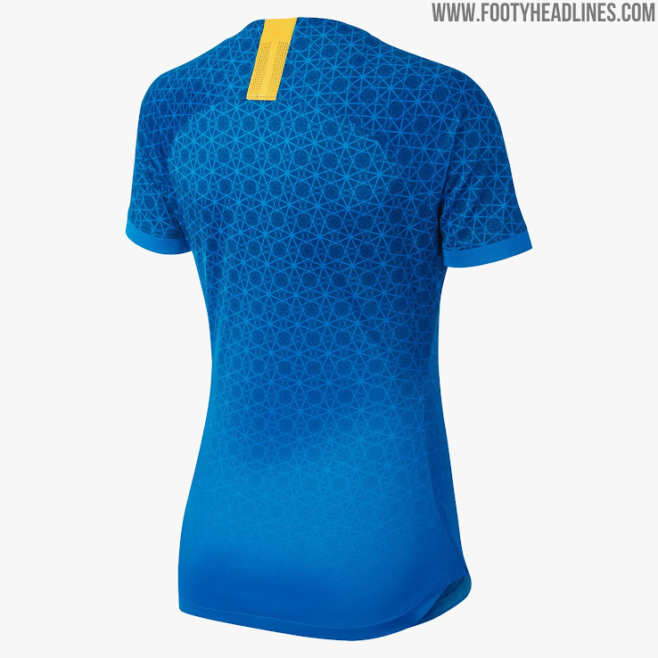 a4133f9c8 Brazil 2019 Women s World Cup Away Kit Revealed - Footy Headlines