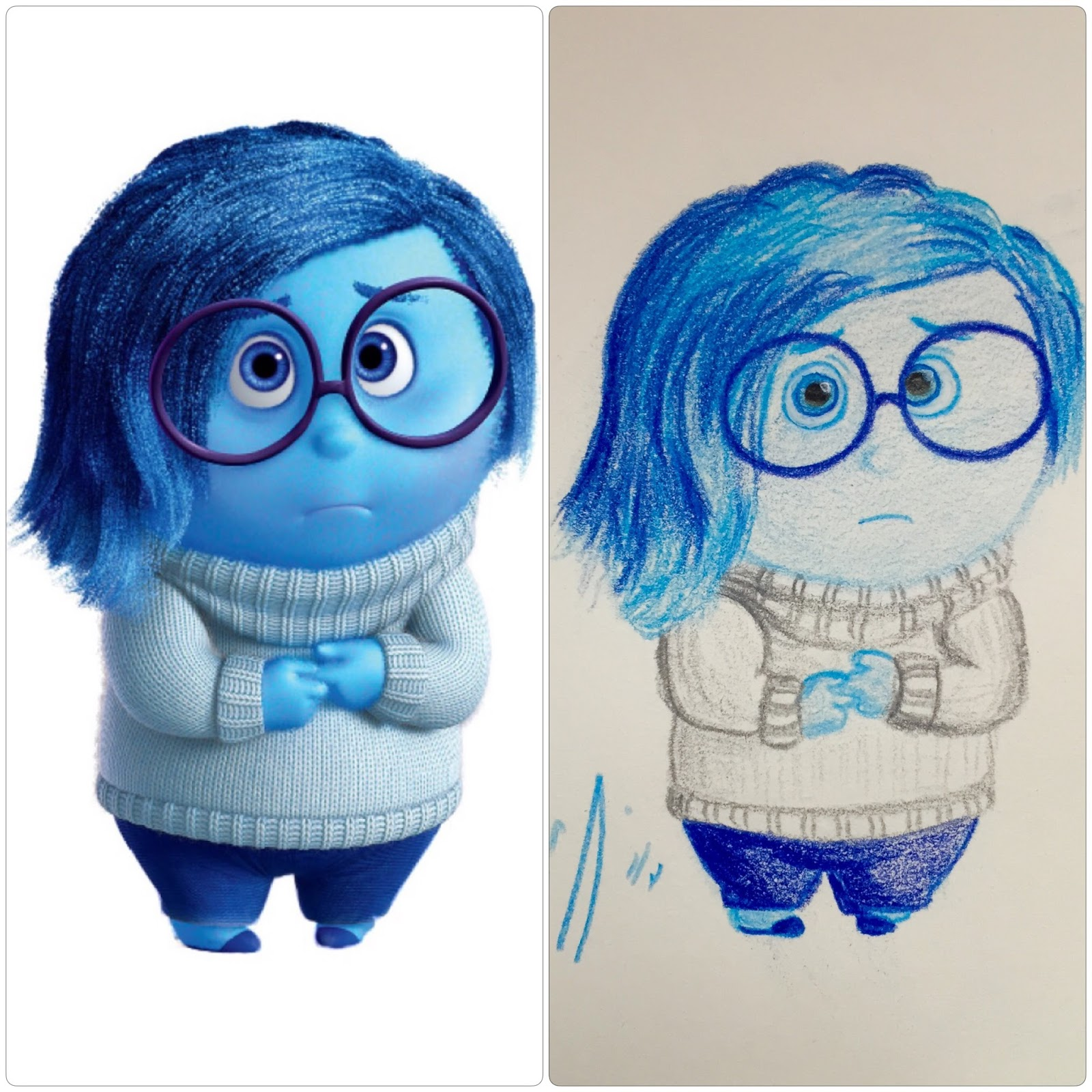 My Little Place: Inside Out | Disgust, Fear, Sadness + a