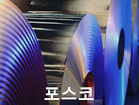 KRX: 005490 포항제철 (포스코) 주식 시세 주가 그래프, 단위: %, POSCO : Pohang Iron and Steel Company