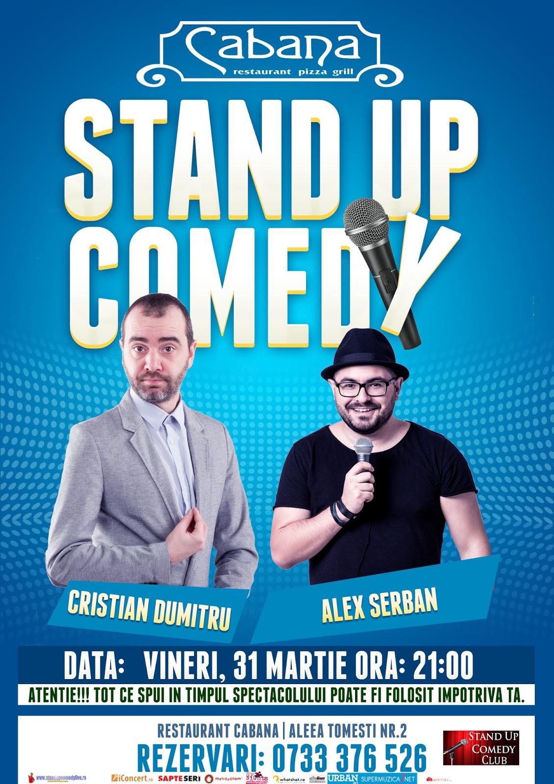 Stand-Up Comedy Vineri 31 Martie Bucuresti