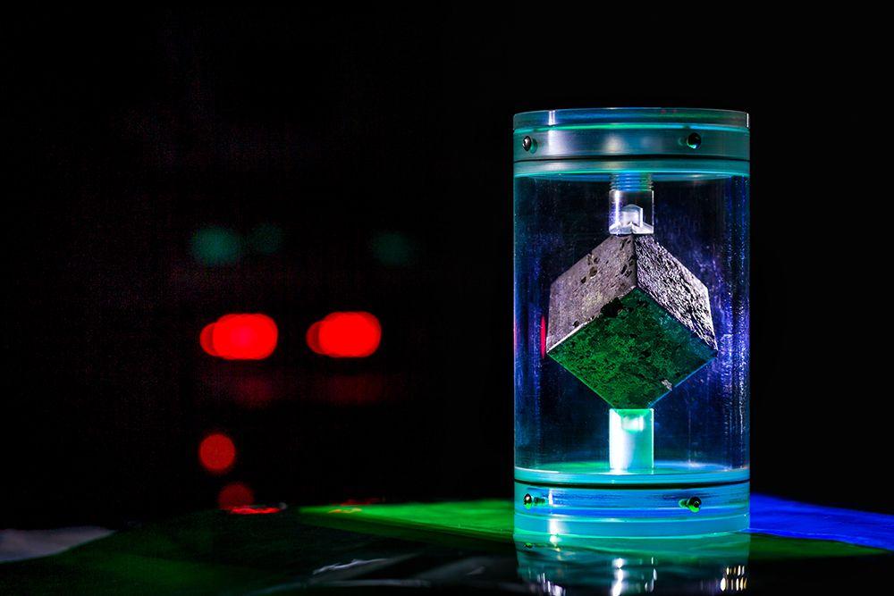 nazi uranium cube reactor