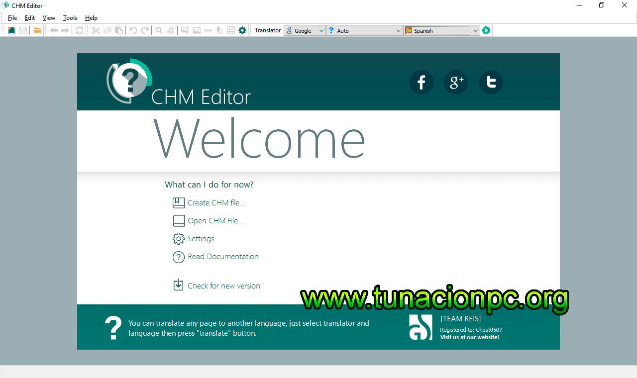 GridinSoft CHM Editor, Edita y Traduce Archivos CHM