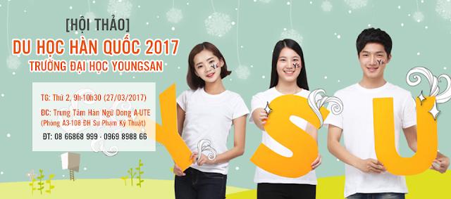 HỘI THẢO: Gặp gỡ trường đại học Youngsan tại TP. HCM