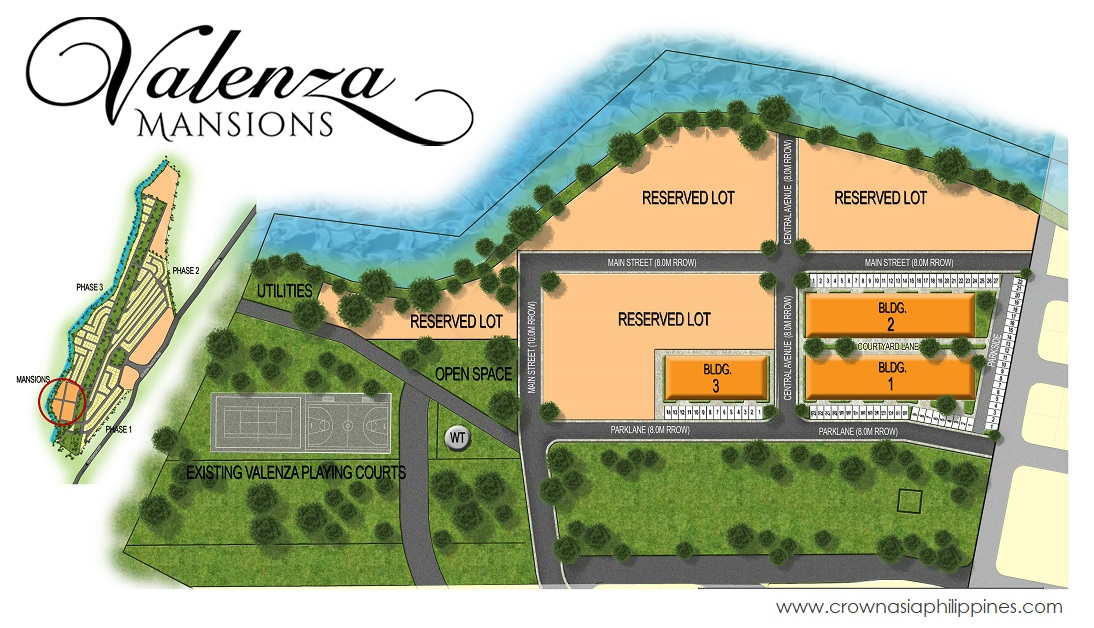 Valenza Mansions - Three Bedroom Family Suite| Crown Asia Prime House for Sale in Sta. Rosa Laguna