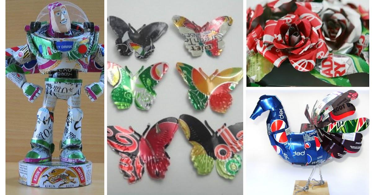8 ideas sorprendentes para reciclar latas de gaseosa o - Reciclar latas de refresco ...