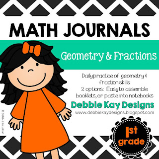 https://www.teacherspayteachers.com/Product/Math-Journals-Geometry-Fractions-2415412