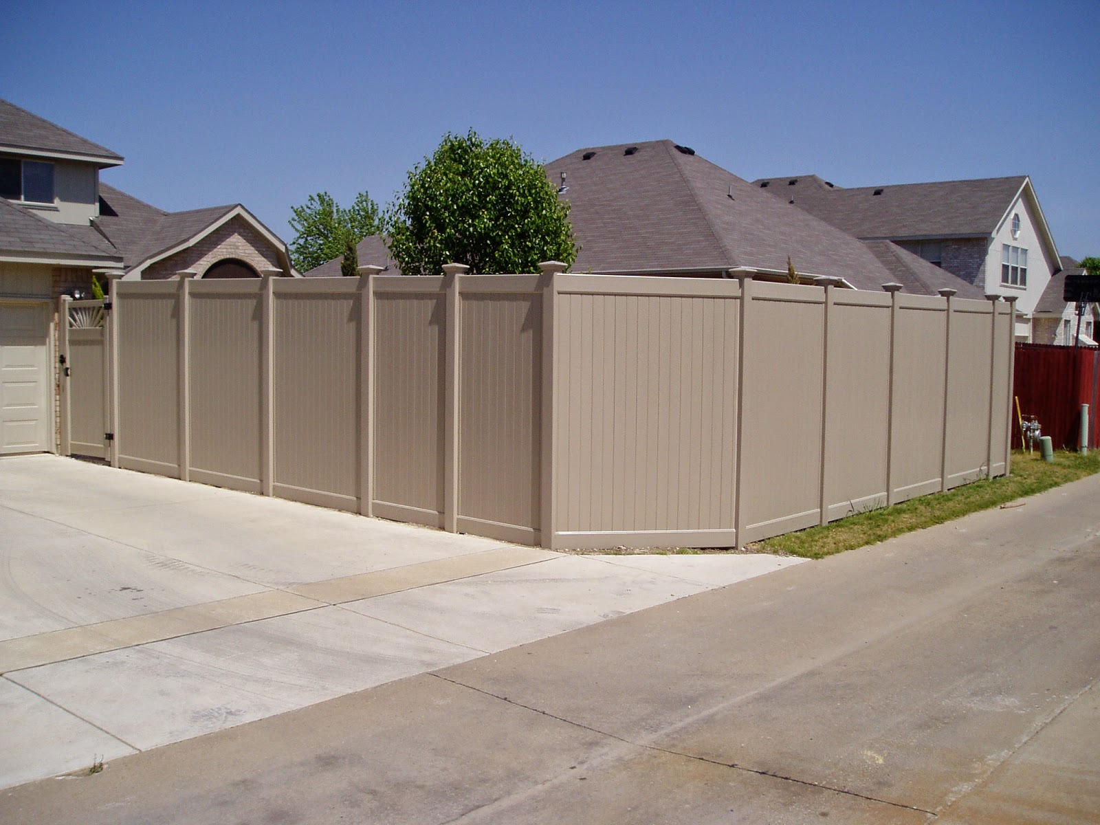 Vinyl Privacy Fence Texas