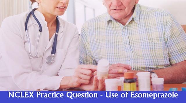 NCLEX Practice Question - Erosive Gastritis Medication