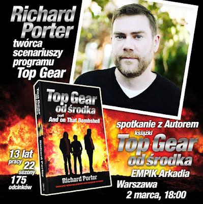 Spotkanie z Richardem Porterem – twórcą scenariuszy programu Top Gear