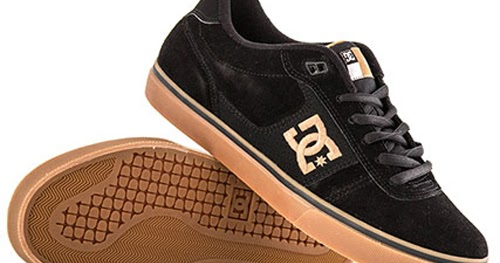 Men S Dc Match Wc Skate Shoes Black Gum Hook Of The Day