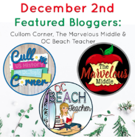 12 Days of December Day Two Teacher-Authors