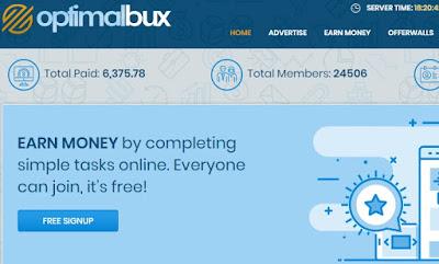 OptimalBux - czy ta strona płaci? Opinie, opis, wady, zalety