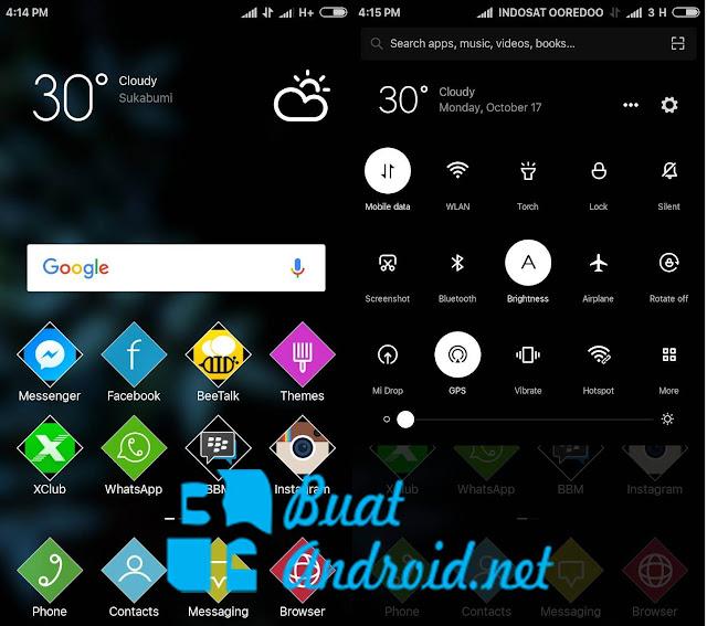 Download Custom ROM MIUIPro v6.10.13 Infinix Hot Note X551 (Base MIUI 8 Global)