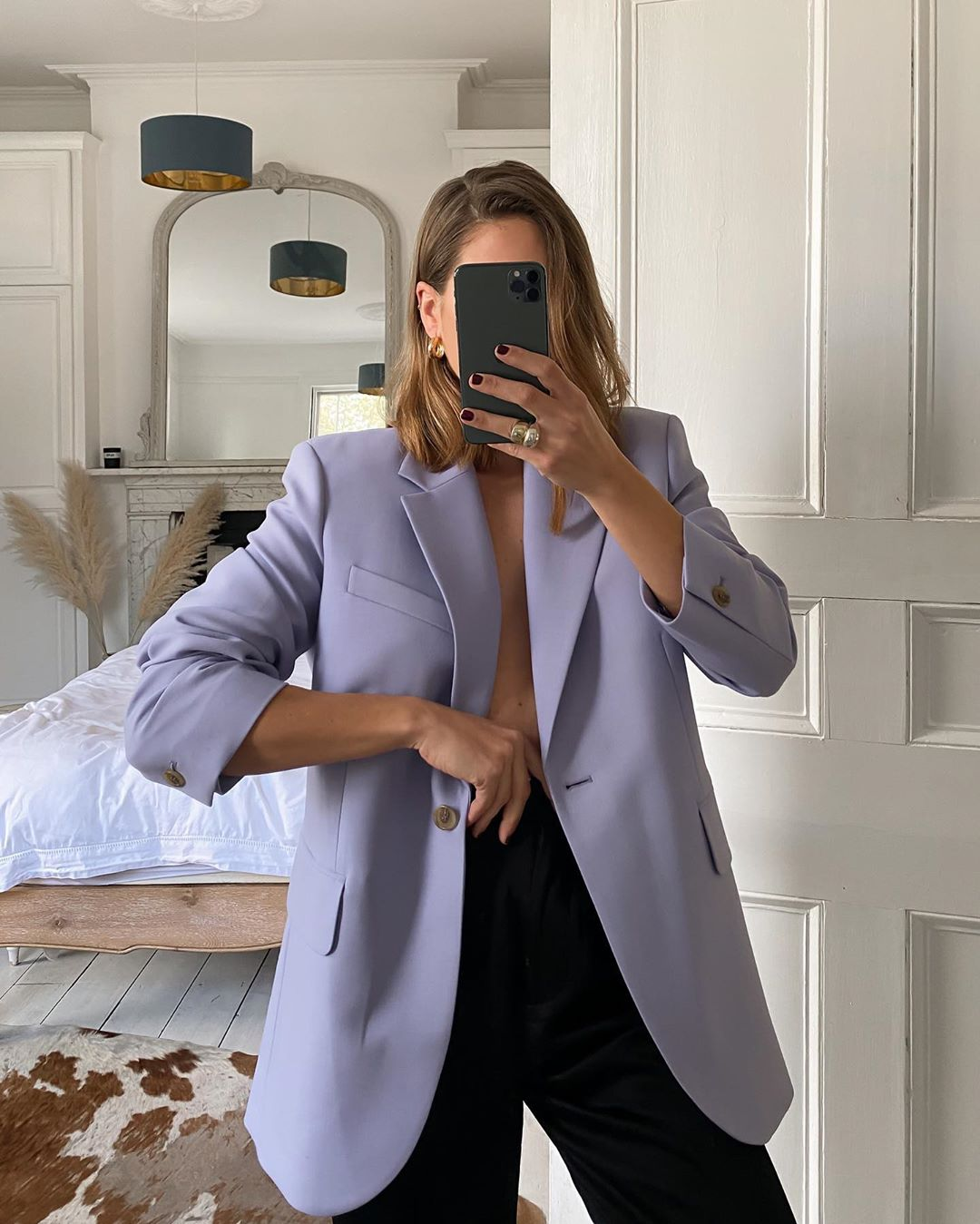 The Best Purple Blazers for Spring — Instagram Outfit Inspiration