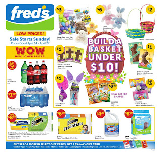 ⭐ Freds Ad 4/14/19 ✅ Fred's Weekly Ad April 14 2019