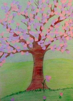 Herzbaum Frühling