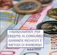 finanziamenti per credito al consumo